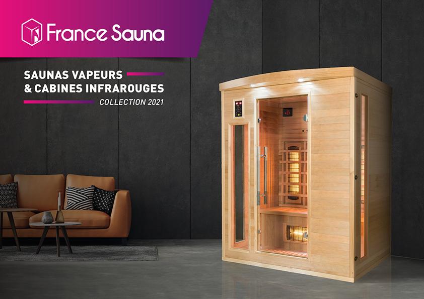 Couverture Catalogue France-Sauna 2021 FR