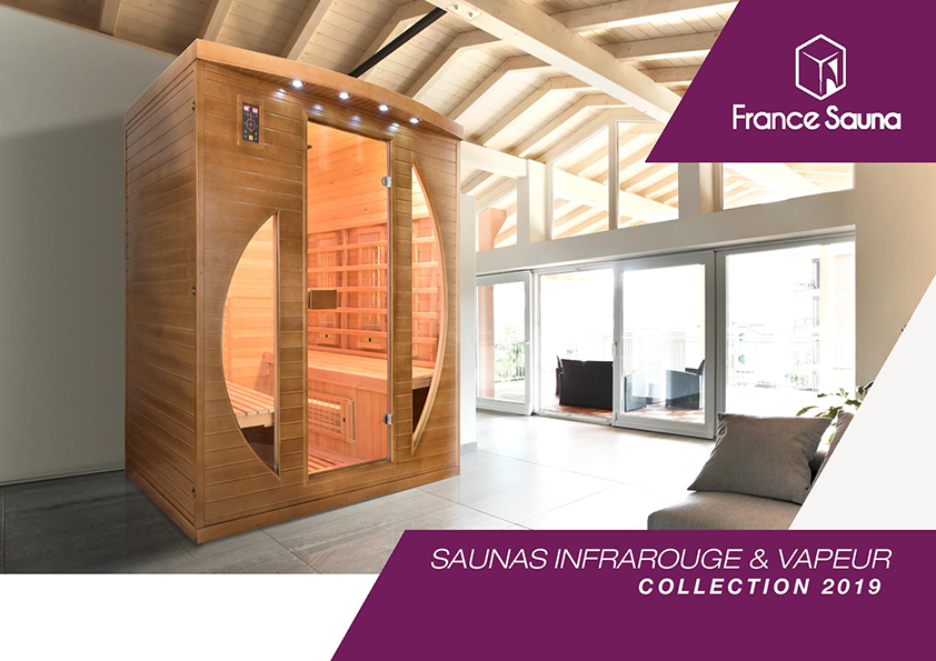 Couverture Catalogue France-Sauna 2019 FR