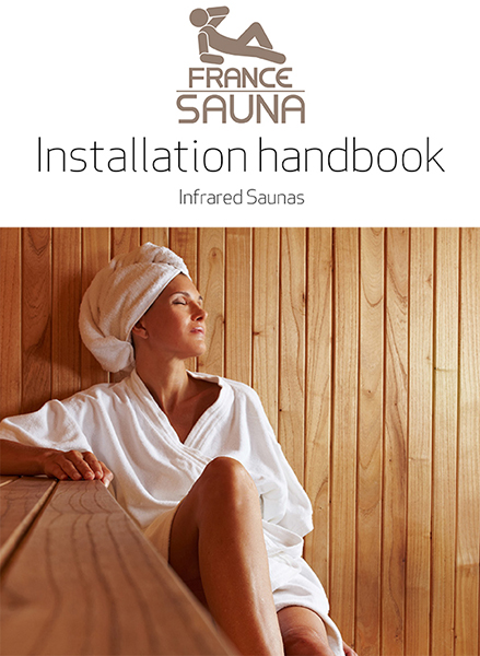 Couverture Manuel France Sauna Infrarouge EN